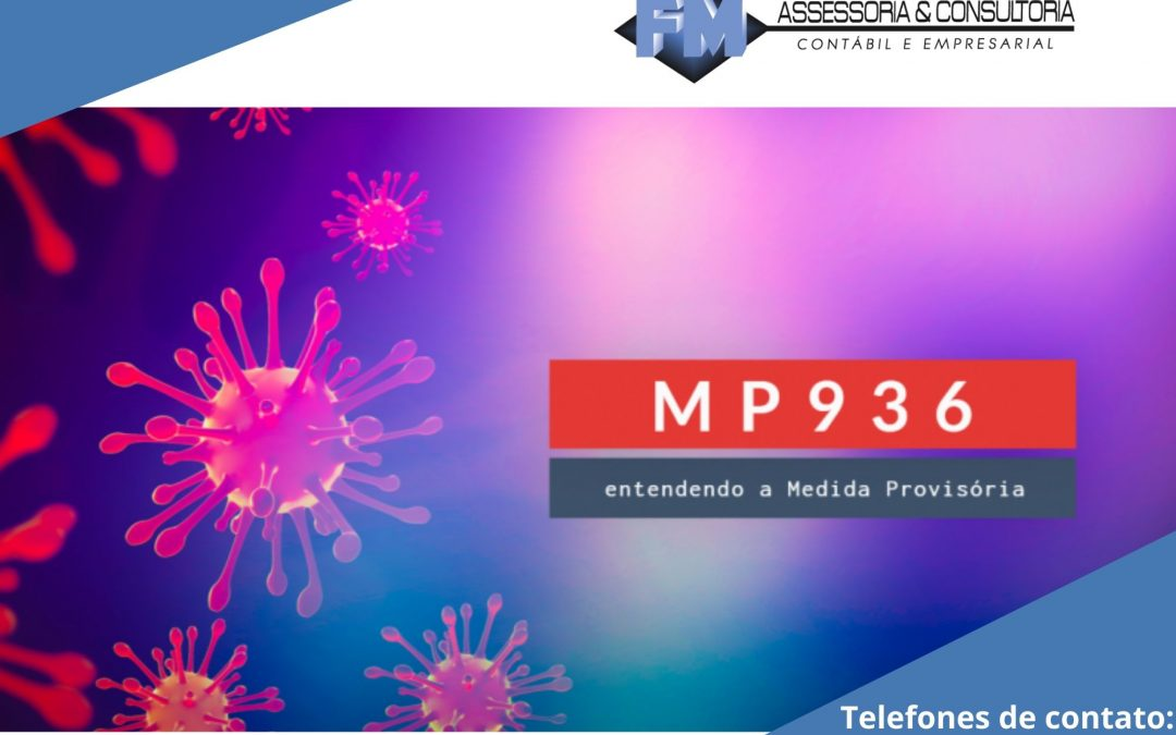 Redução de jornada/salários e suspensão do contrato são divulgadas por MP 936/2020